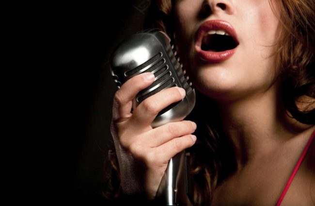 female voice over talent